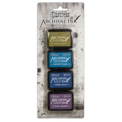 Distress Archival Mini Ink Kit - Kit 2_74791