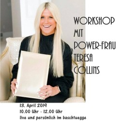 Workshop avec Teresa Collins