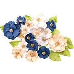 Mulberry Paper Flowers -...