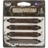 Mechanicals Metal Embellishments - Rusty Labels_74932