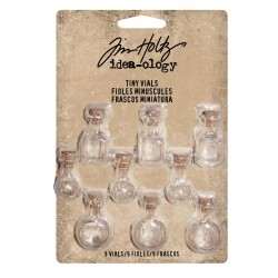 Tiny Corked Glass Vials