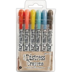 Distress Crayons Set 7