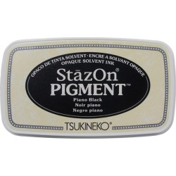 StazOn Pigment Ink Pad - Piano Black_75279
