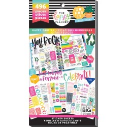 Value Pack Stickers - Happy Quotes_75284