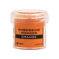 Embossing Powder - orange_75661