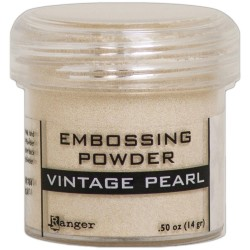 Embossing Powder - vintage pearl_75681