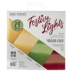 Craft Perfect Mirror Cardstock - Festive Lights_75828