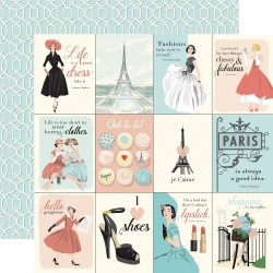 En vogue - Journaling Cards
