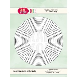 Die Base frames set circle_75902