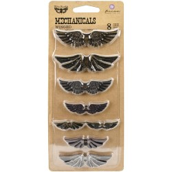 Mechanicals Metal Embellishments - Winged_76039