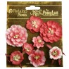 Penny Lane mixed blossom - antique red_76151