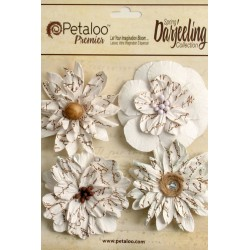 Paper Wild Blossoms - white