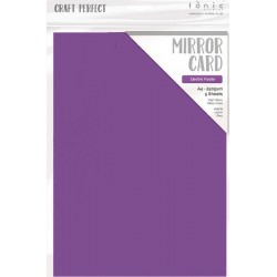 Craft Perfect Mirror Cardstock - electric purple_76245