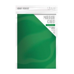 Craft Perfect Mirror Cardstock - flourishing green_76277