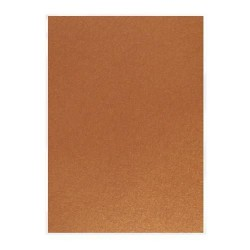 Pearlescent Cardstock - rusted crimson_76283