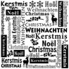 Embossing Folder - Multi Language Christmas_76311