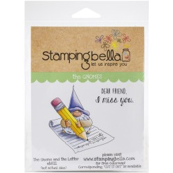 Gnome & The Letter - Cling Stamp_76417