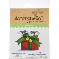 The Perfect Gnome Bow - Cling Stamp_76435