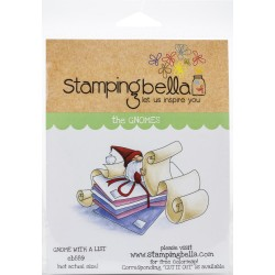 Gnome with a List - Cling Stamp_76439
