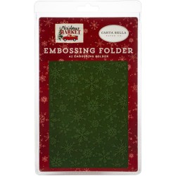 Market Snow - Embossing Folder_76443