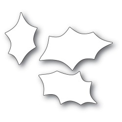 Scribble Holly Trio Background Craft Die_76511