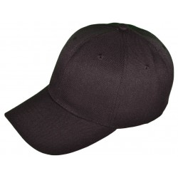 Blank Baseball Hats - black_76566