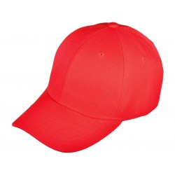 Blank Baseball Hats - red_76572