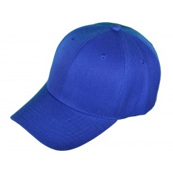 Blank Baseball Hats - royal blue_76581