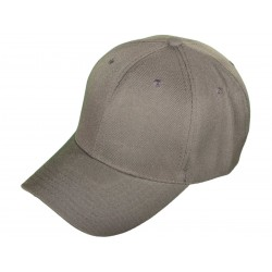 Blank Baseball Hats - dark grey_76582