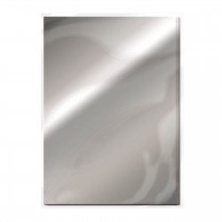 Craft Perfect Mirror Cardstock - chrome silver_76979