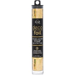 Deco Foil - Gold Shattered Glass_77006