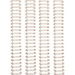 "Cinch Wires 1"" 4/Pkg - rose gold_77043"