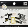 Tiny Sticker Pad - Black & White_77160