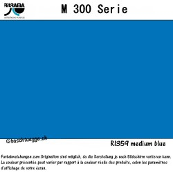 Vinylfolie matt M300 - medium blue_77173