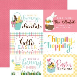 "I love easter - 4""X6"" Journaling Cards_77242"