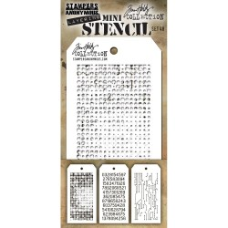 Mini Layered Stencil Set 3/Pkg - Set #48_77355