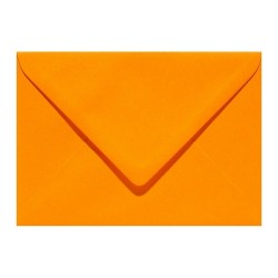 enveloppe C6  orange