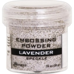 Embossing Powder -  Speckle - Lavender_77638