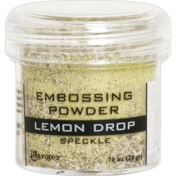 Embossing Powder -  Speckle - Lemon Drop_77641