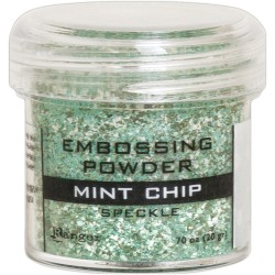Embossing Powder -  Speckle - Mint Chip_77642