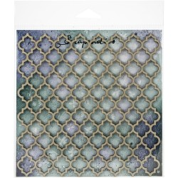 Laser Cut Chipboard - Quatrefoil Panel_77659