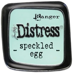 Distress Enamel Collector Pin - Speckled Egg_78139