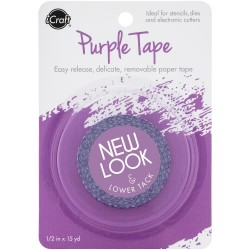 iCraft Removable Purple Tape 12.7mm_78247