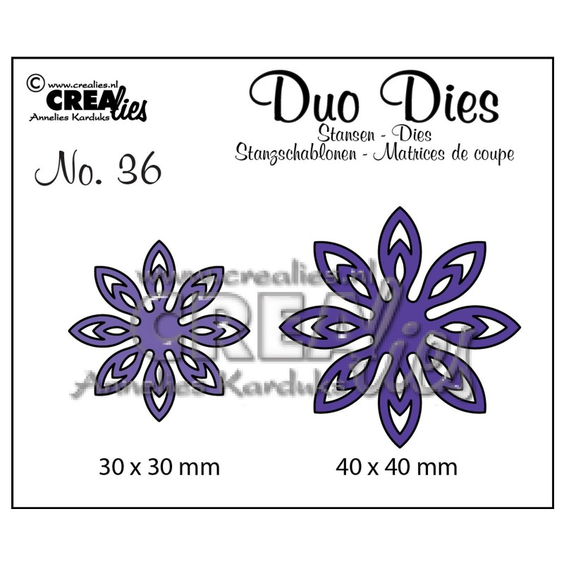 Cutting Die - no. 36 flowers_78359