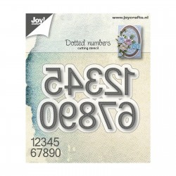 Cutting Dies - dotted numbers_78369