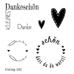Clear Stamp - Danke_78453