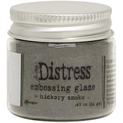 Distress Embossing Glaze - Hickory Smoke_78458