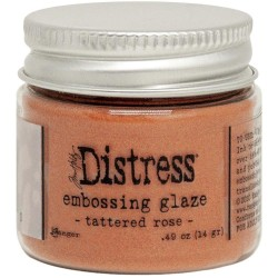 Distress Embossing Glaze - Tattered Rose_78483