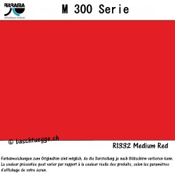 Vinylfolie matt M300 - medium red_78492
