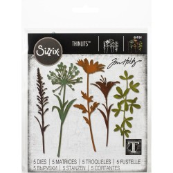 Wildflowers Stems 2 - Dies